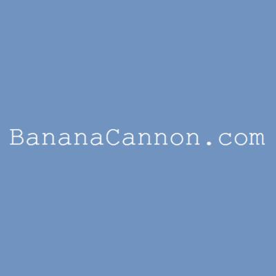 internet gorillas - banana cannon pic 1